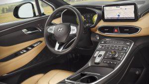 2021 Hyundai Santa Fe Hybrid Interior