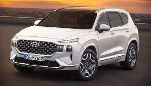 2021 Hyundai Santa Fe Hybrid Pictures