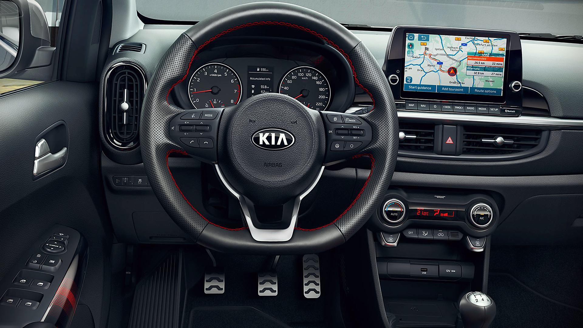 2021 Kia Picanto GT-Line Interior