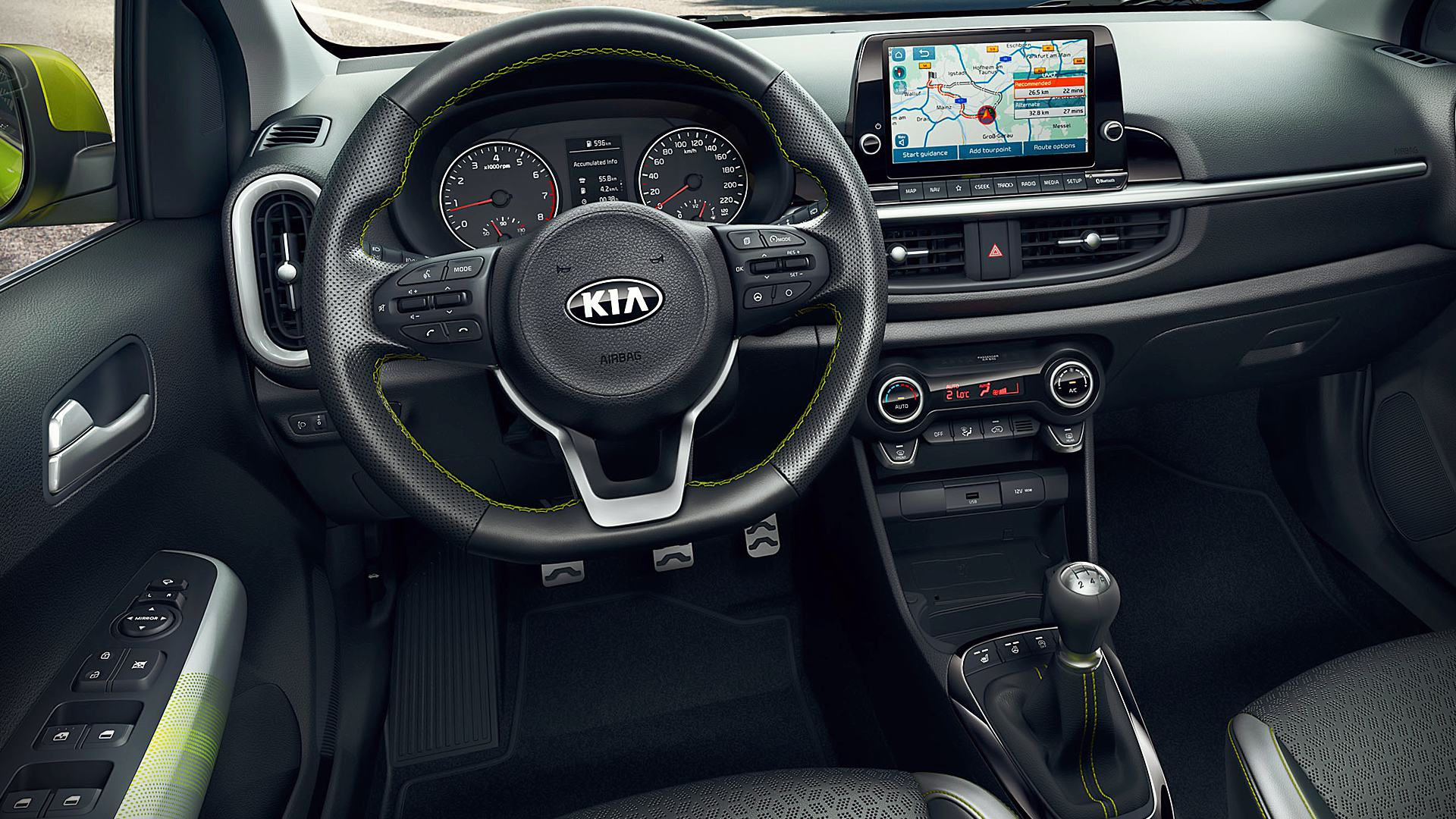 2021 Kia Picanto Interior