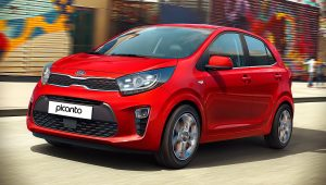 2021 Kia Picanto Red Images