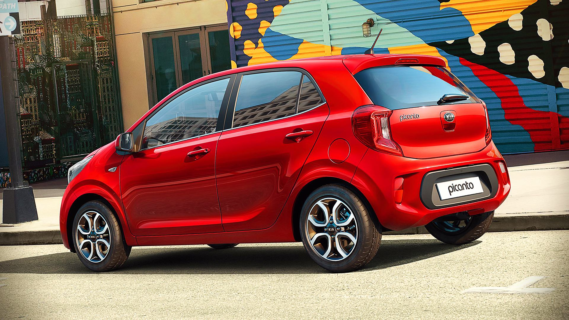 2021 Kia Picanto Red Pictures
