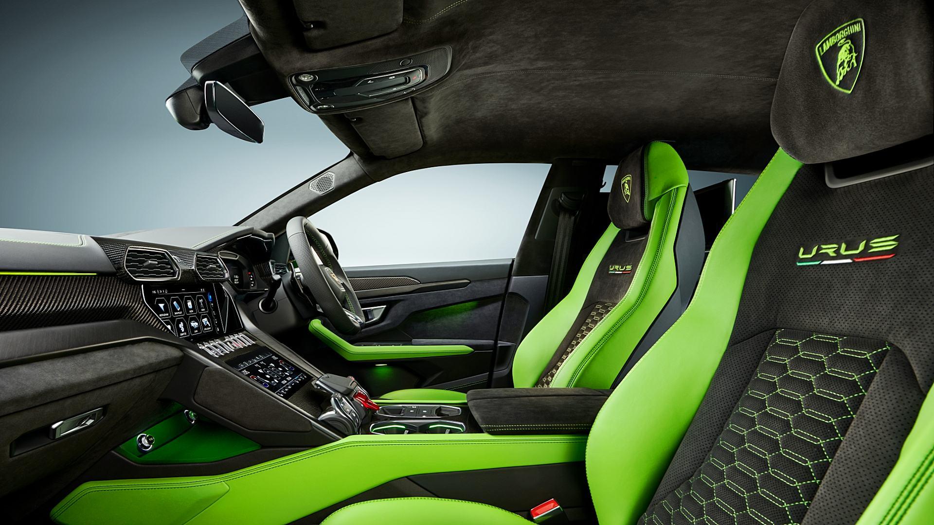 2021 Lamborghini Urus Suv Interior