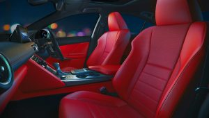 2021 Lexus IS 350 F Sport Interior