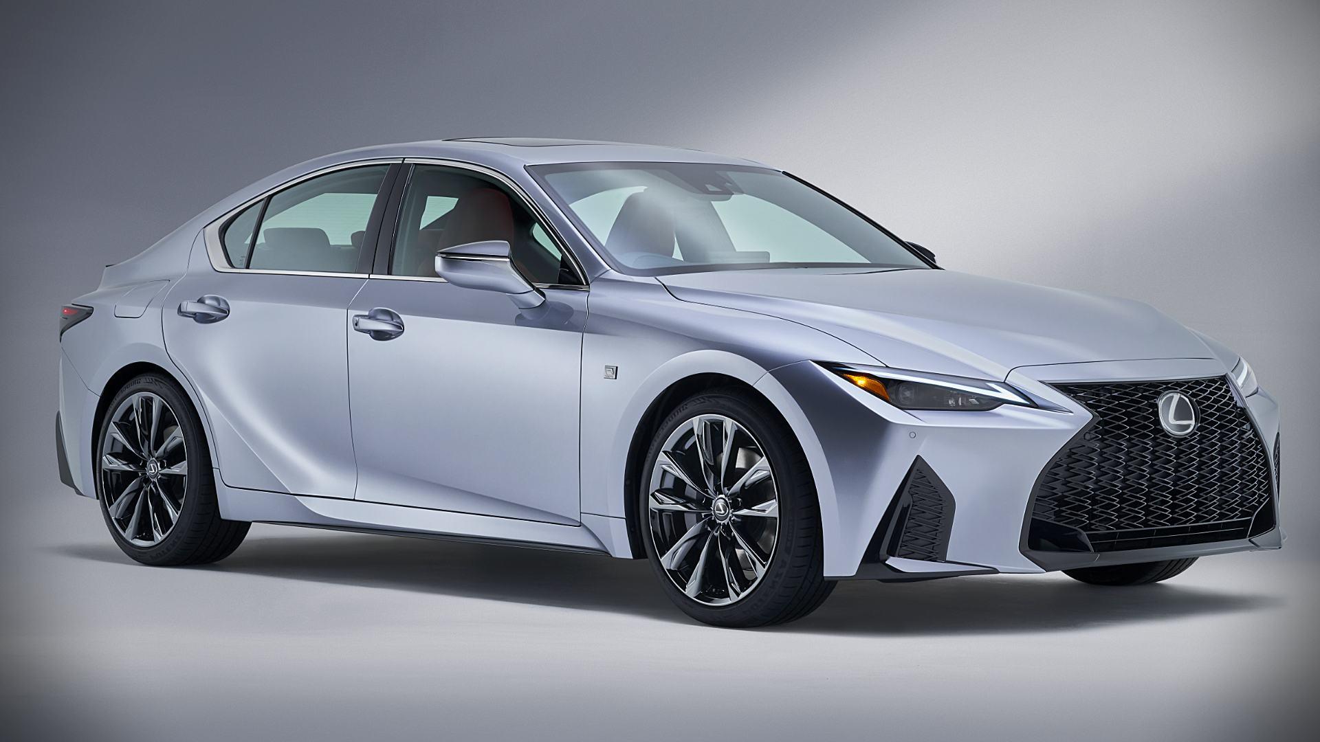 2021 lexus is sports sedan