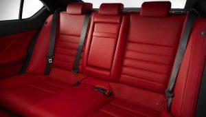 2021 Lexus IS Sport Sedan Red Interior