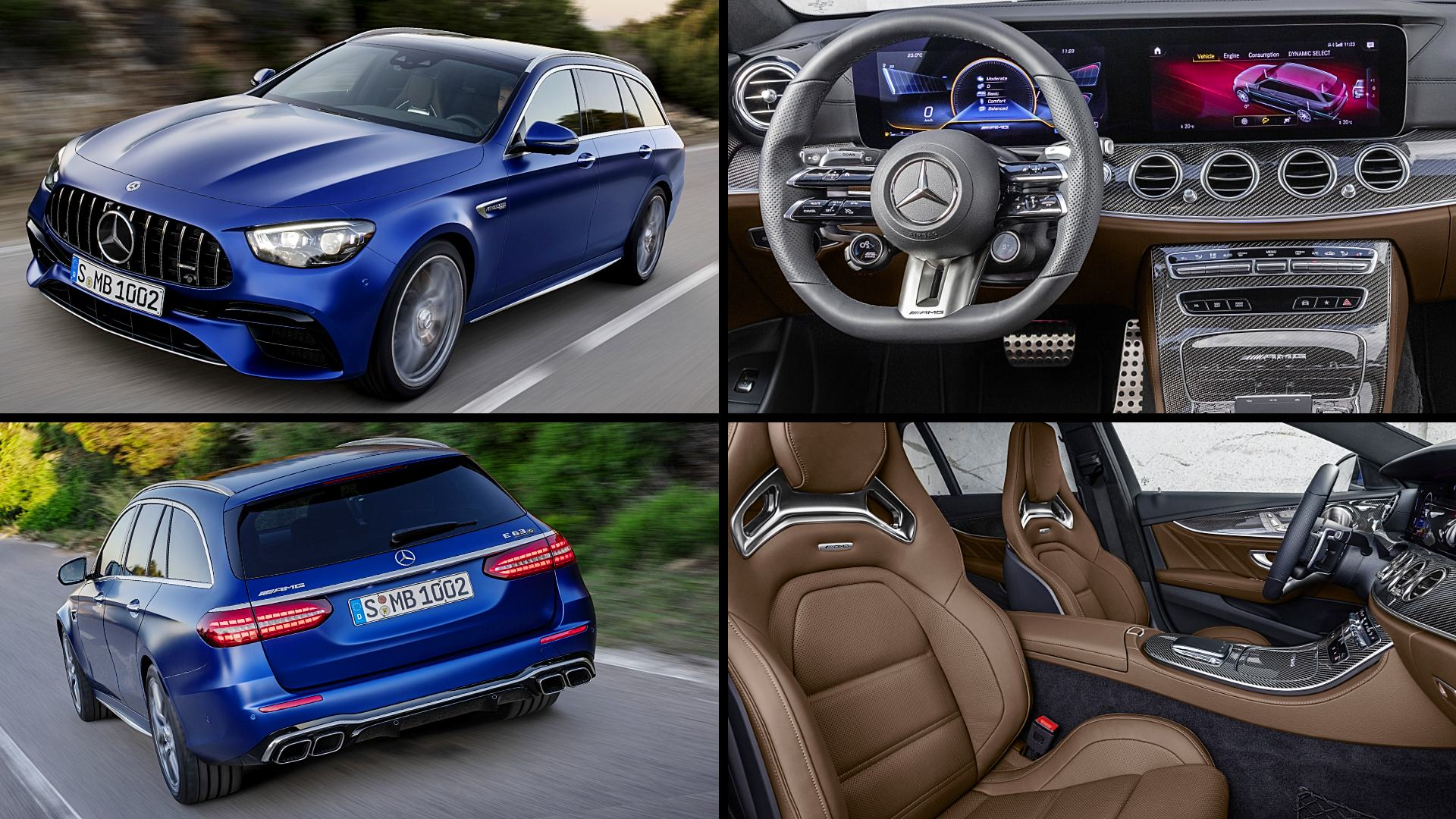 2021 Mercedes Benz AMG E63 Photos Interior