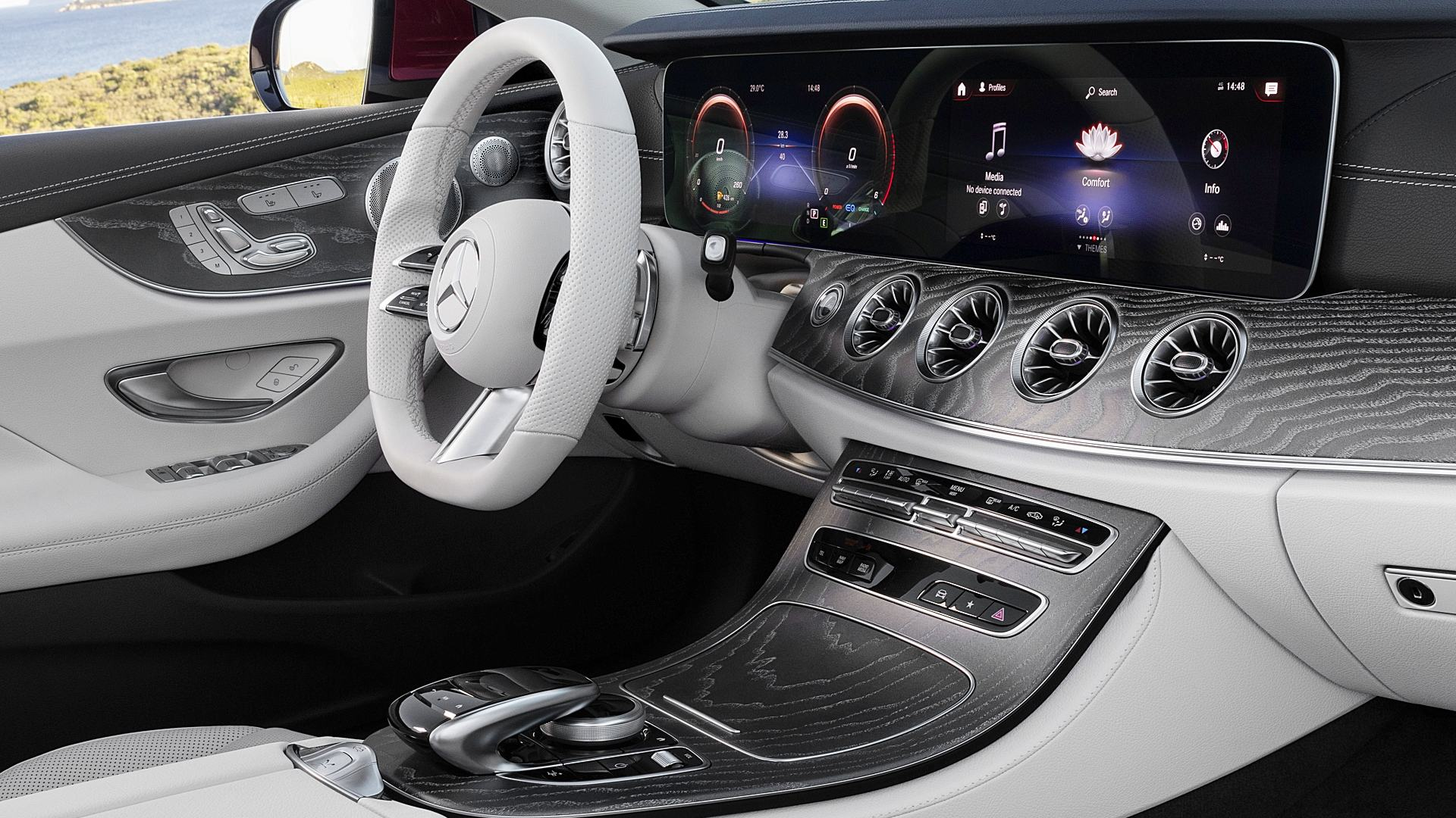 2021 Mercedes Benz E450 4Matic Interior