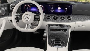 2021 Mercedes E450 Convertible Interior