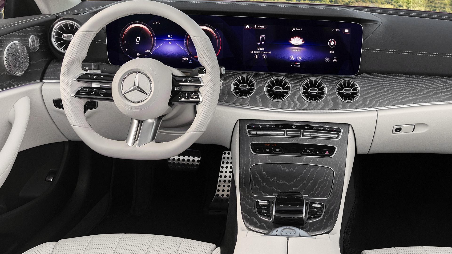 2021 Mercedes E450 Convertible Interior