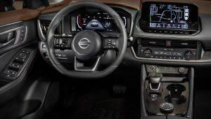 2021 Nissan Rogue Inside Interior