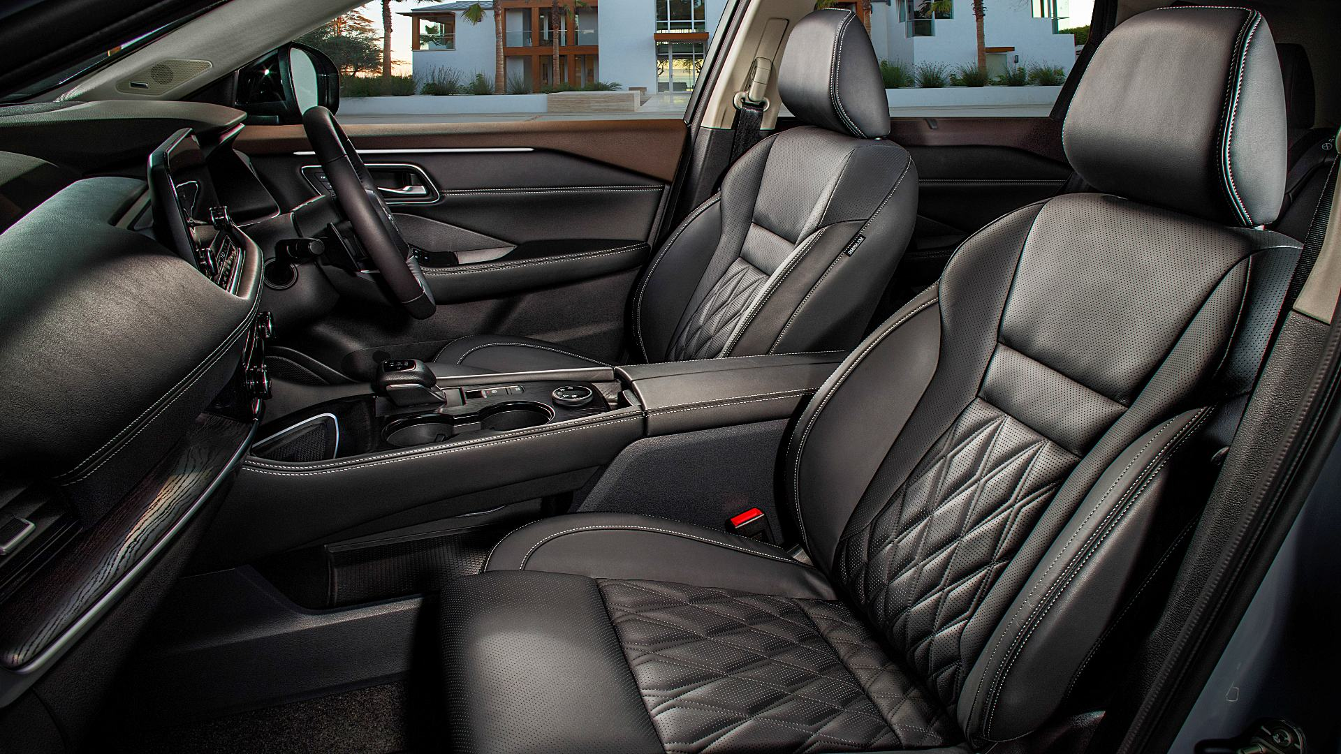 2021 Nissan Rogue Interior Pictures