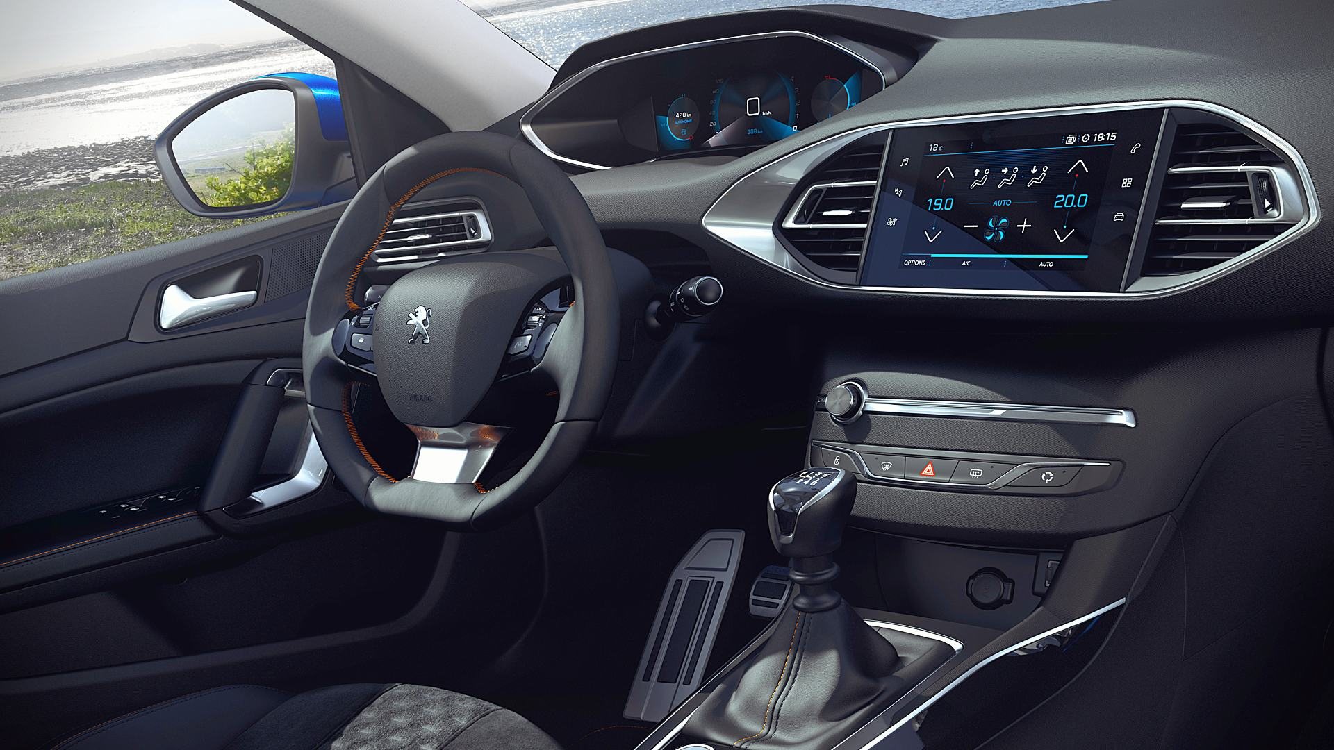 2021 Peugeot 308 New Concept