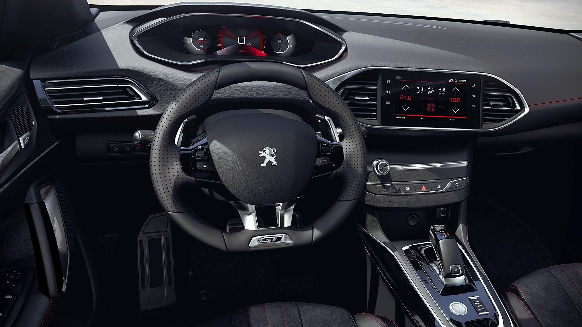 2021 Peugeot 308 Sw Interior