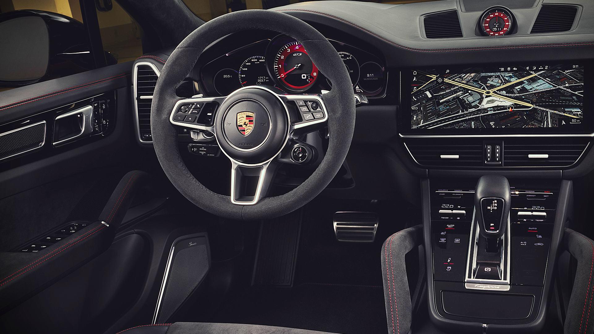 2021 Porsche Cayenne Gts Interior
