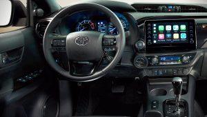 2021 Toyota Hilux Interior