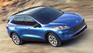 2020 Ford Escape Hybrid Titanium Pictures