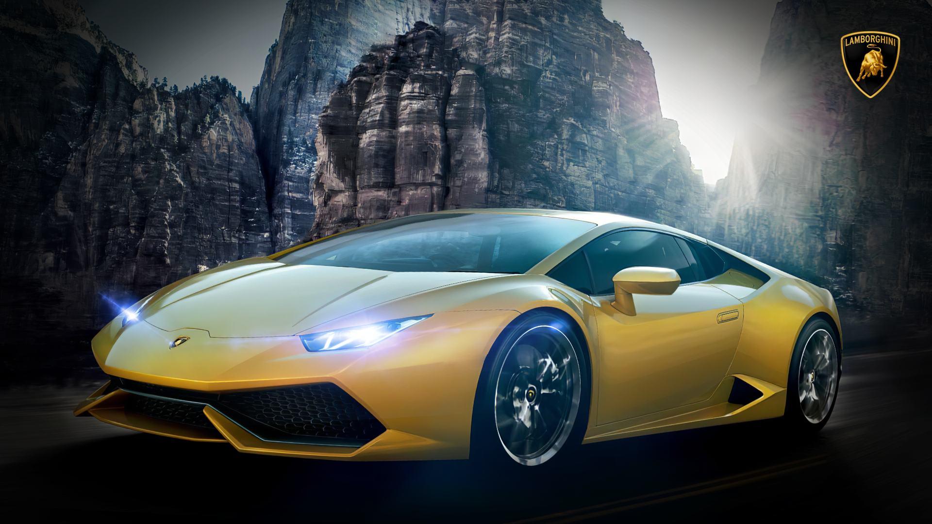 Sports Car Images of Lamborghini Wallpaper Hd