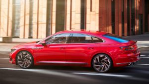 Volkswagen Arteon Red Wallpaper