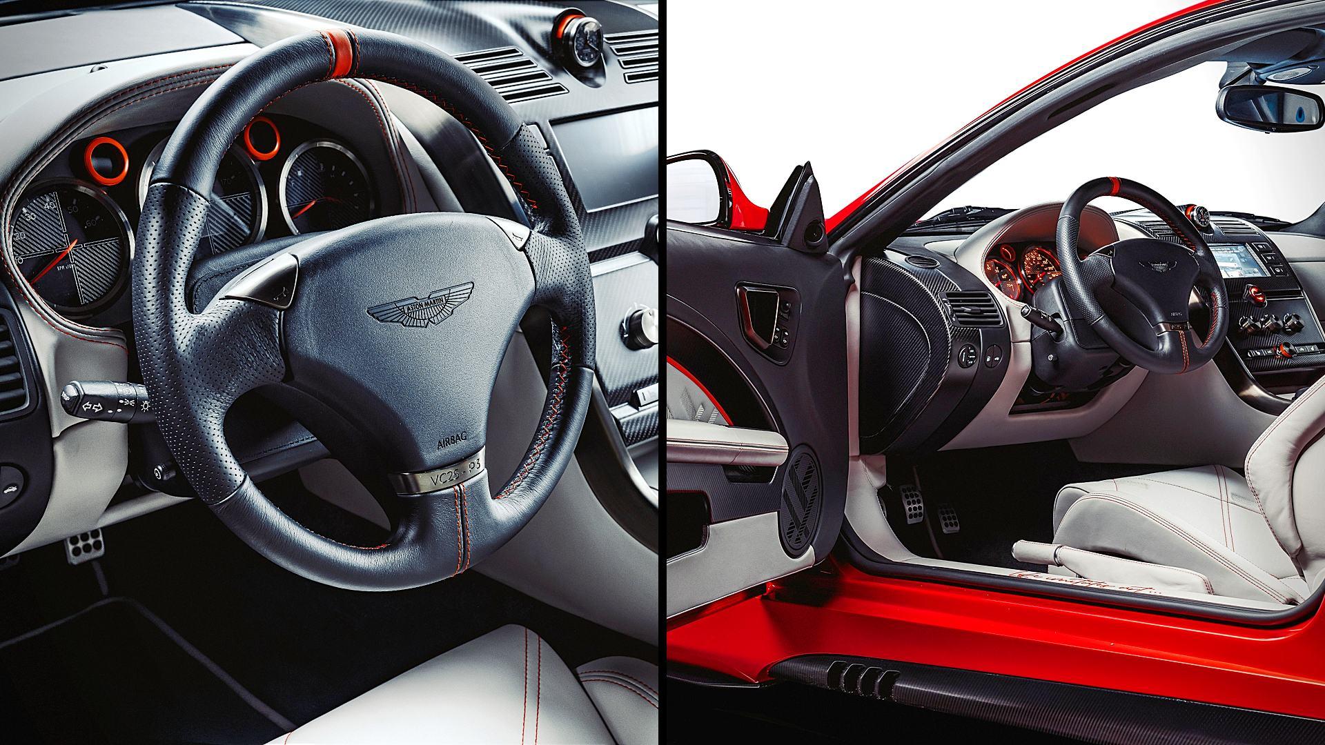 2020 Aston Martin Vanquish 25 Interior Inside