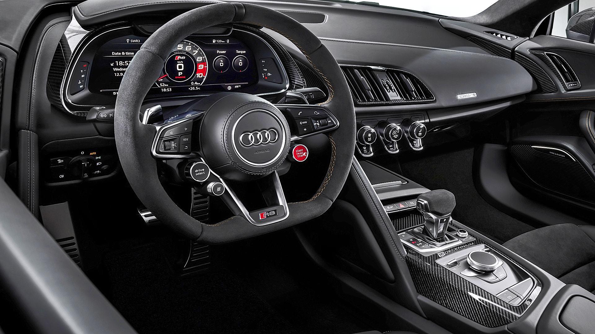 2020 Audi R8 V10 Decennium Interior Images