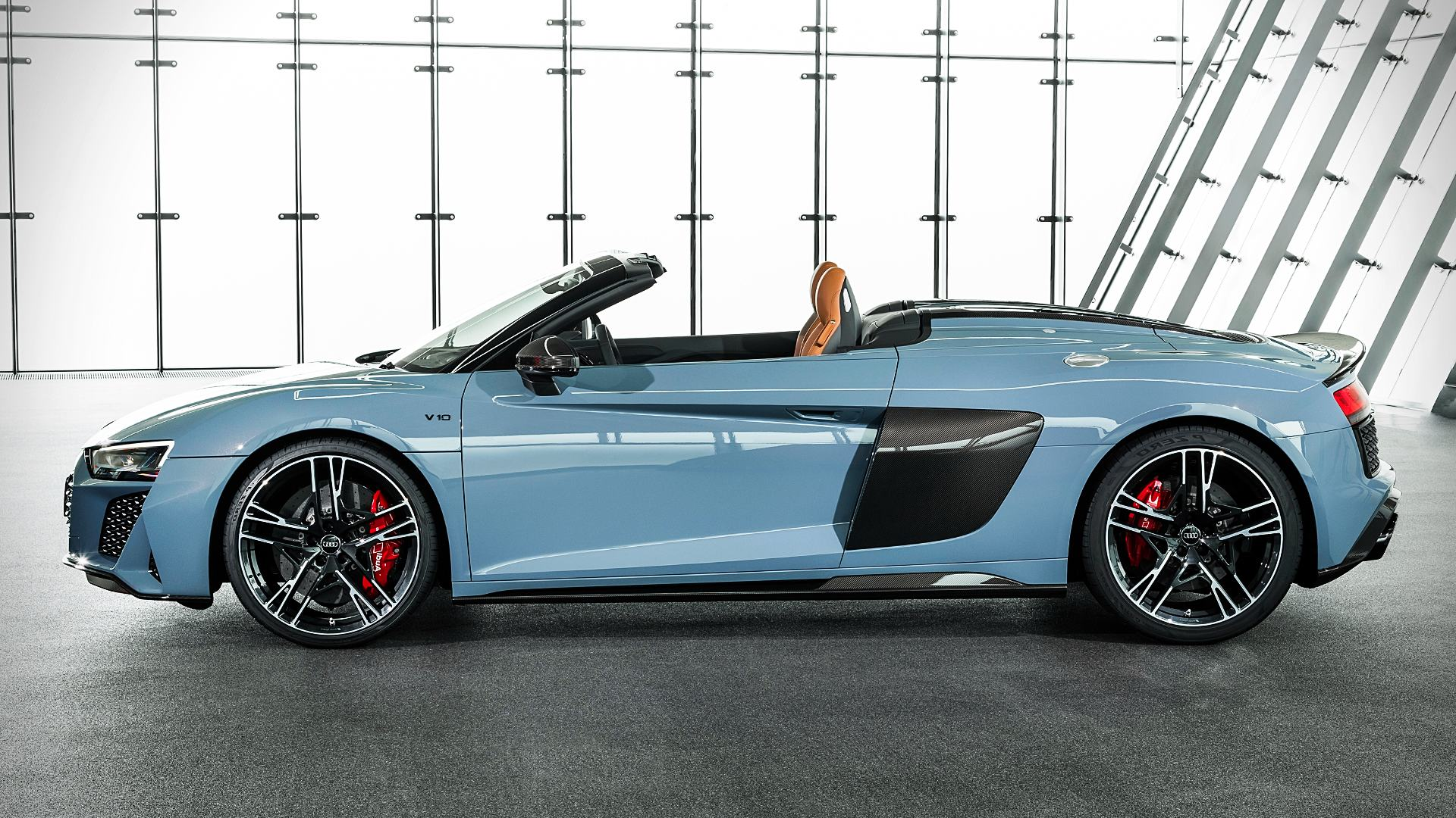 2020 Audi R8 V10 Performance Spyder Images