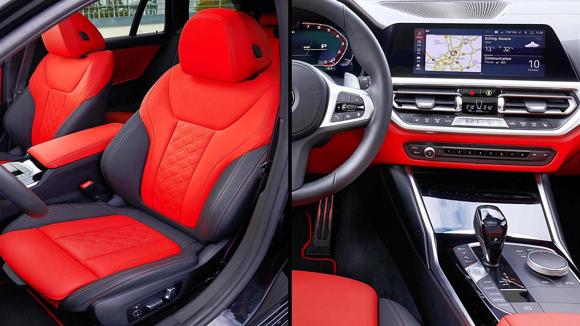 2020 BMW M340i xDrive Interior Inside