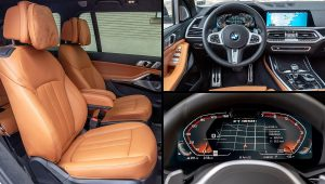 2020 BMW X7 M50i Interior Colors