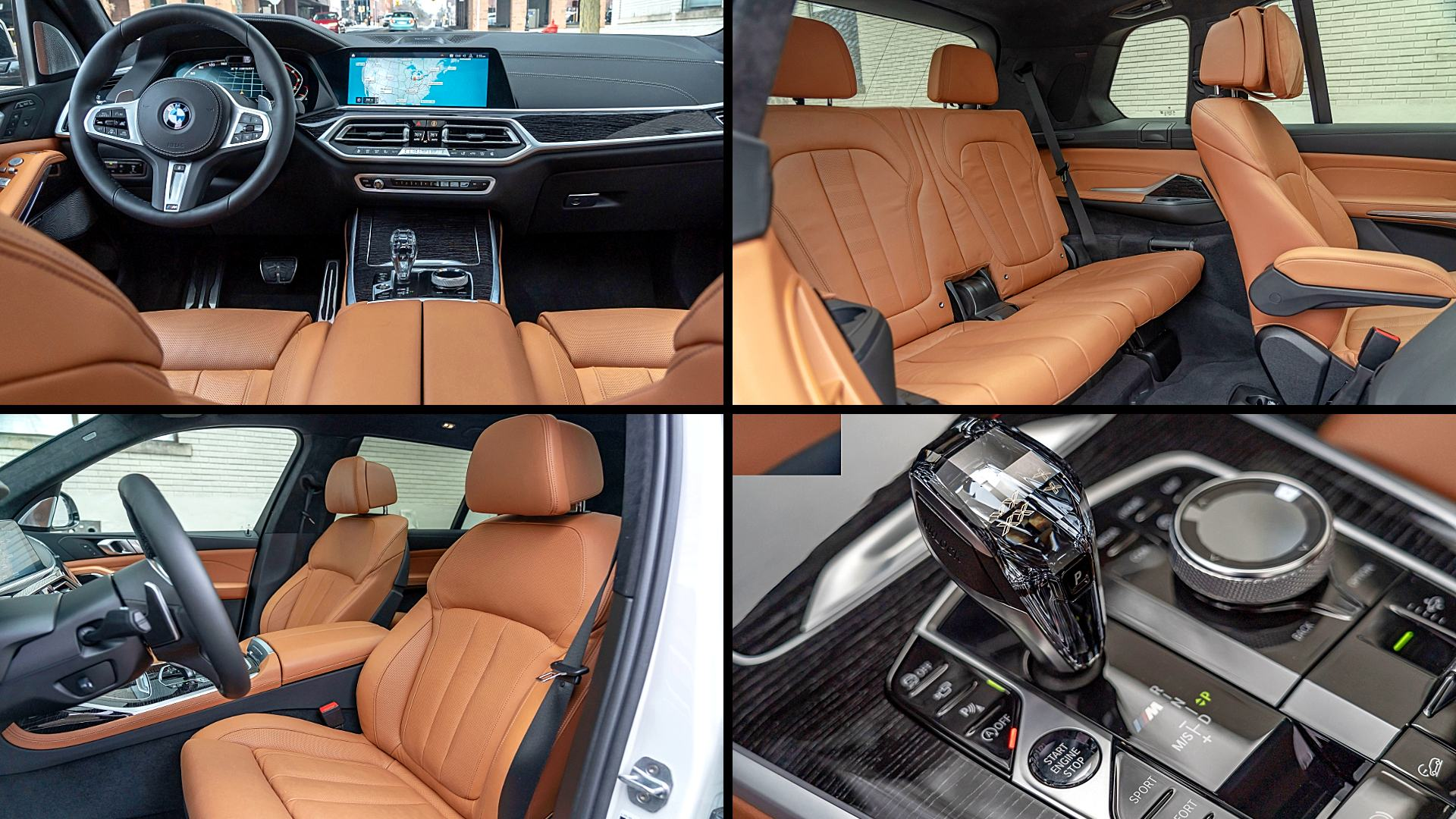 2020 BMW X7 SUV Interior Inside Photos