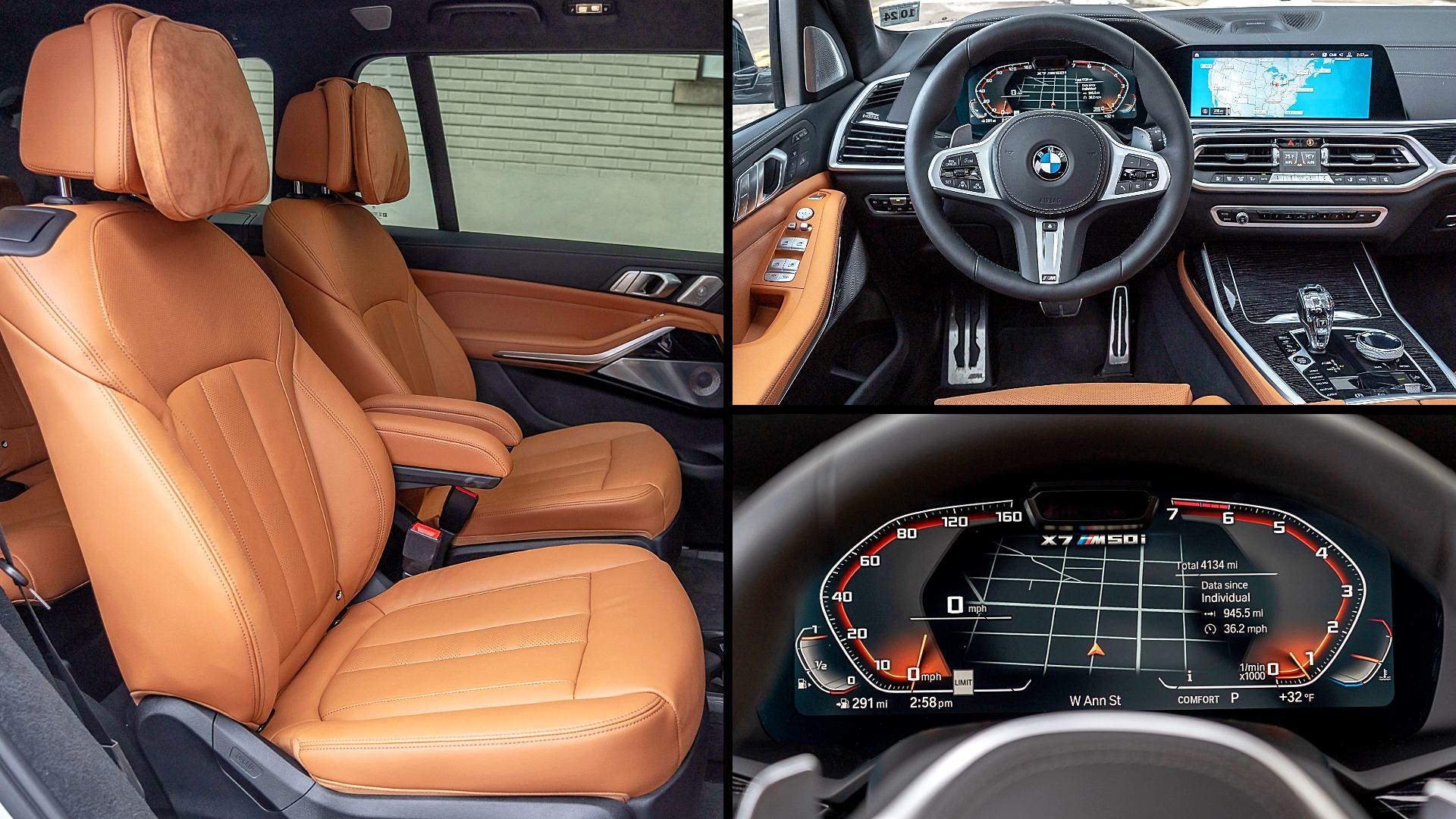 2020 BMW X7 M50i Interior Colors