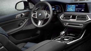 2020 BMW X7 SUV M50i Dark Shadow Edition Interior Inside Pictures