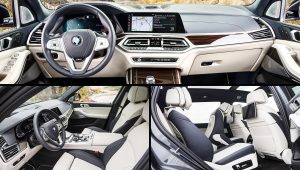 2020 BMW X7 xDrive40i Interior Images