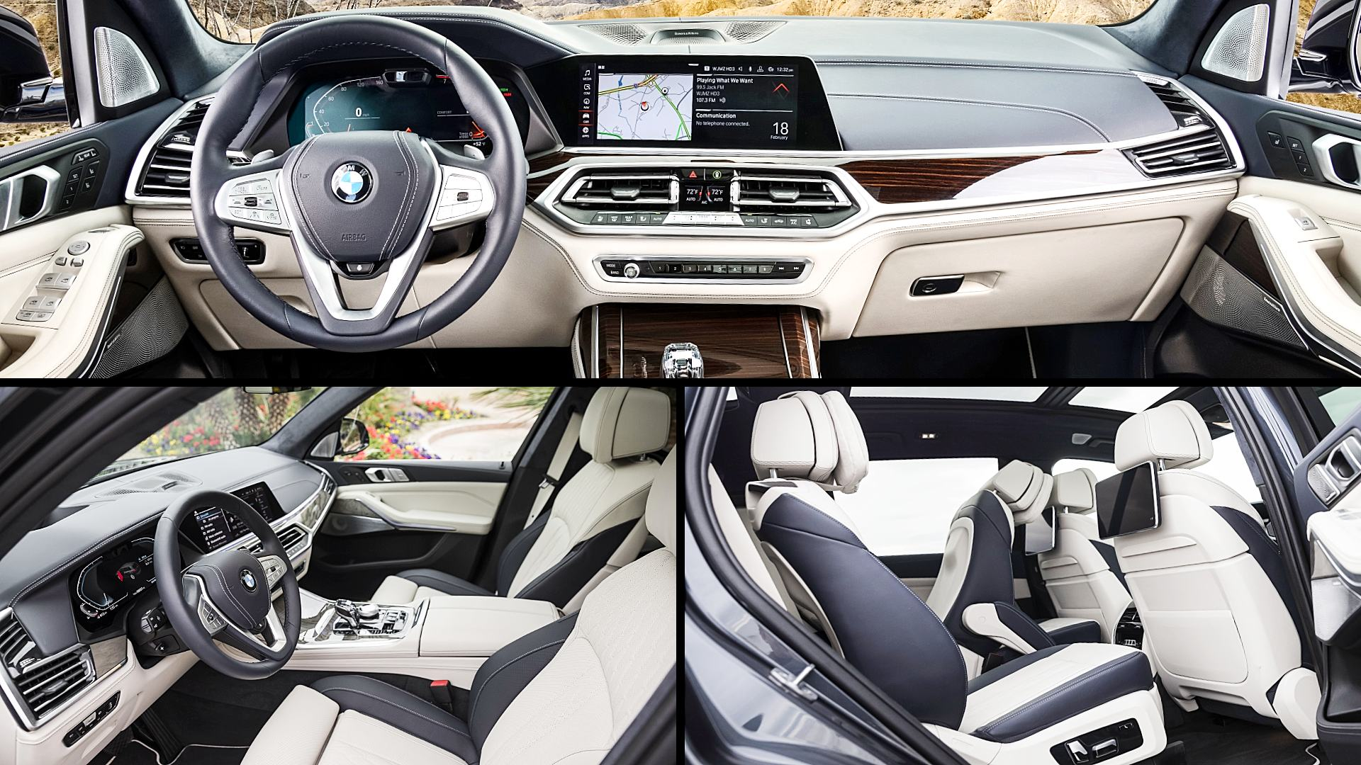 2020 Bmw X7 Xdrive40i Interior Images