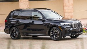 2020 BMW X7 xDrive50i Black SUV Pictures