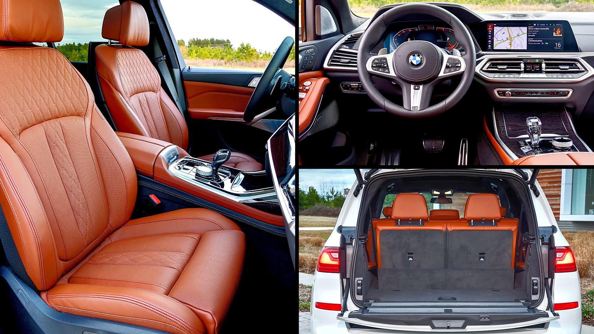 2020 BMW X7 xDrive50i Interior Inside