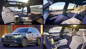 2020 BMW X7 ZeroG Lounger Interior Inside