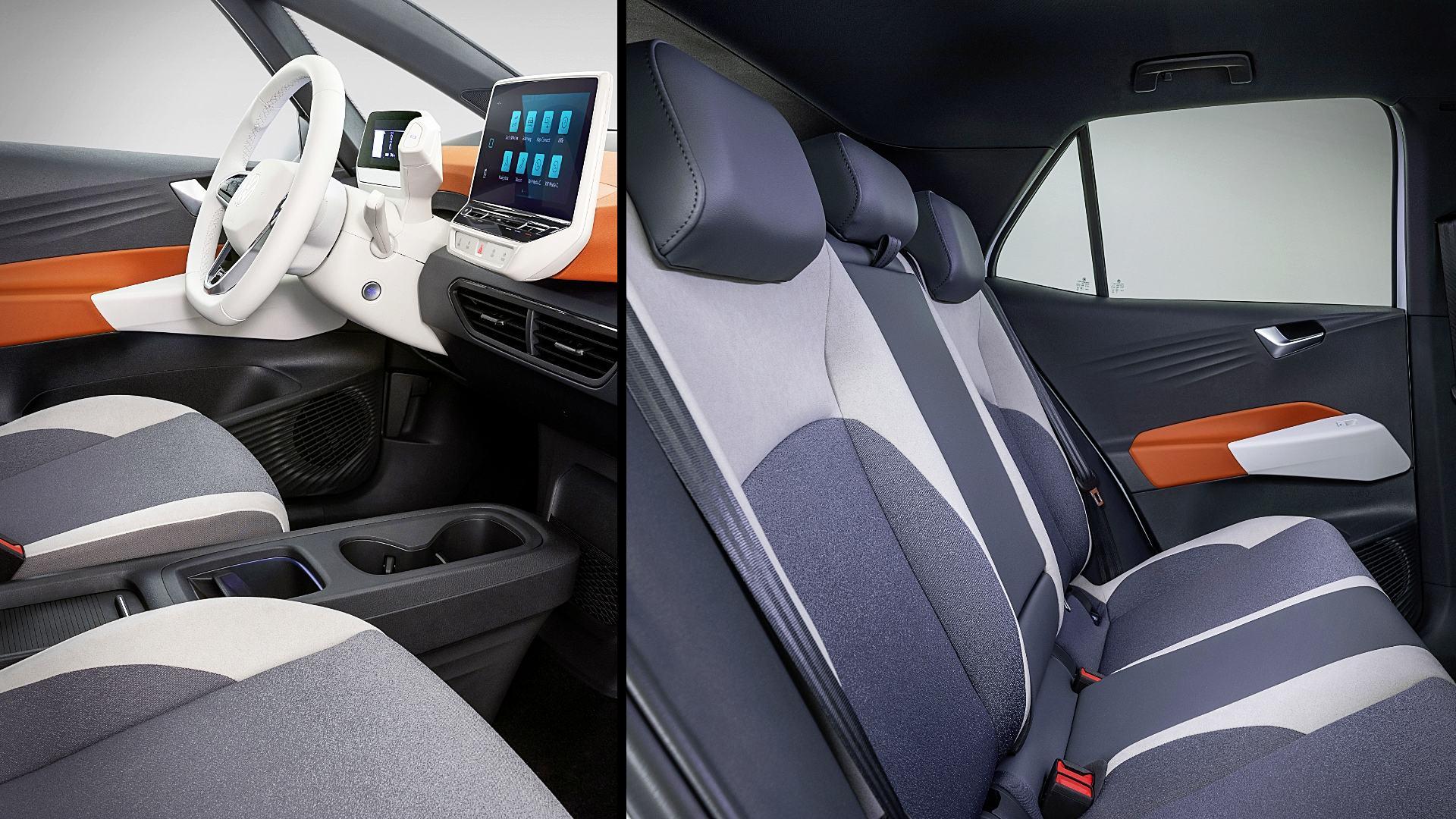 2020 Electric VW Cars ID 3 Interior