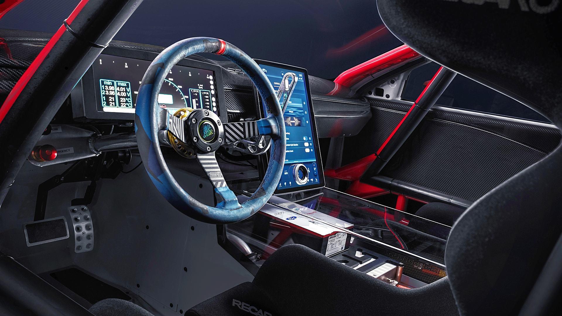 2020 Ford Mustang Mach-E 1400 Interior Inside