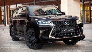 2020 Lexus LX 570 Black Edition Images