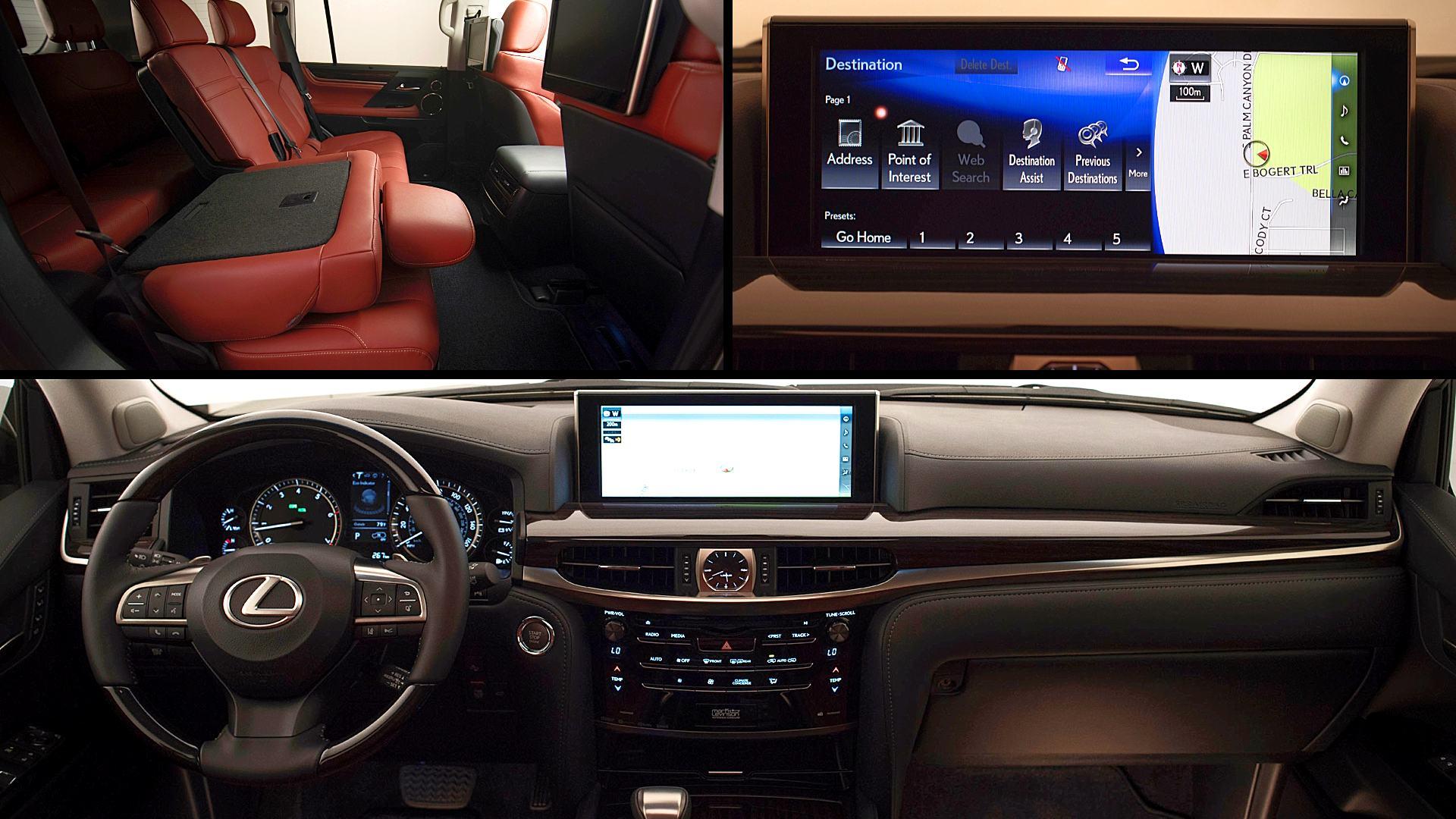 2020 Lexus LX 570 Interior Colors