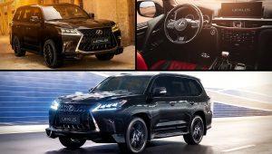 2020 Lexus SUV Models LX 570