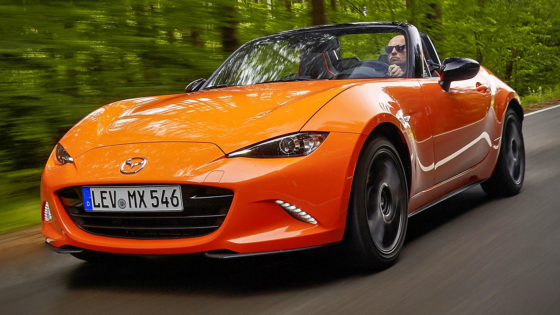 2020 Mazda MX-5 Miata 30th Anniversary Images Photos
