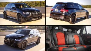2020 Mercedes AMG GLC Black SUV Images
