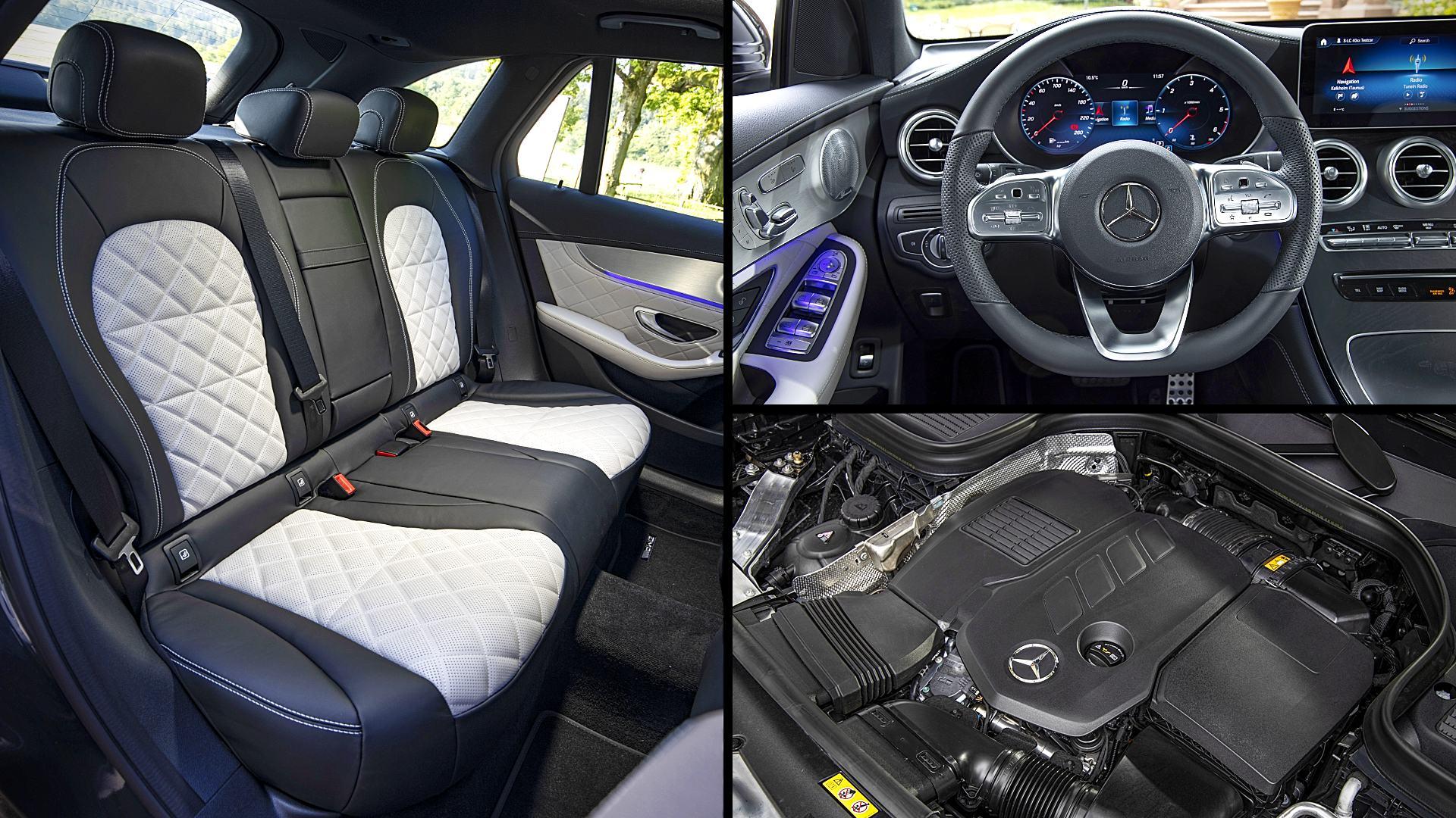 2020 Mercedes GLC 300 AMG SUV Interior