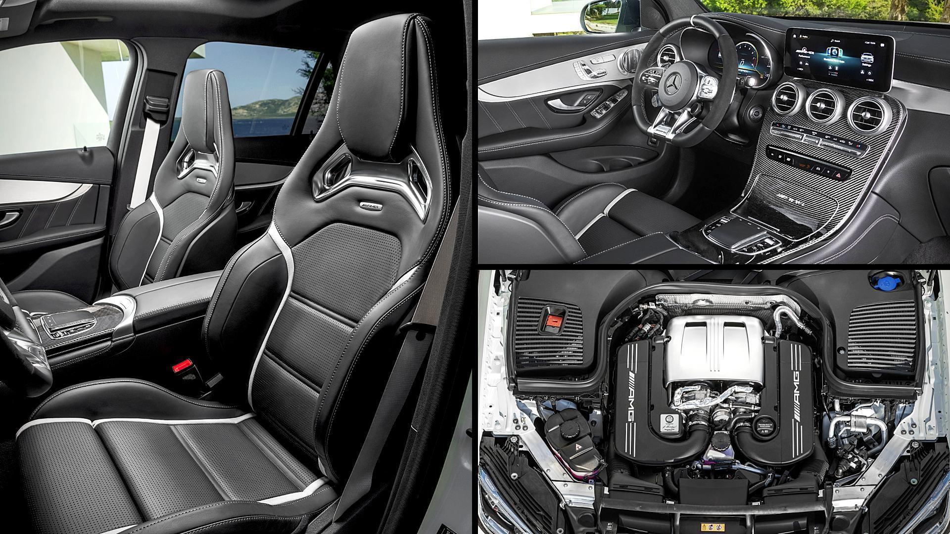 2020 Mercedes GLC SUV Models Interior