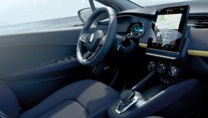2020 Renault Zoe Electric Interior Images