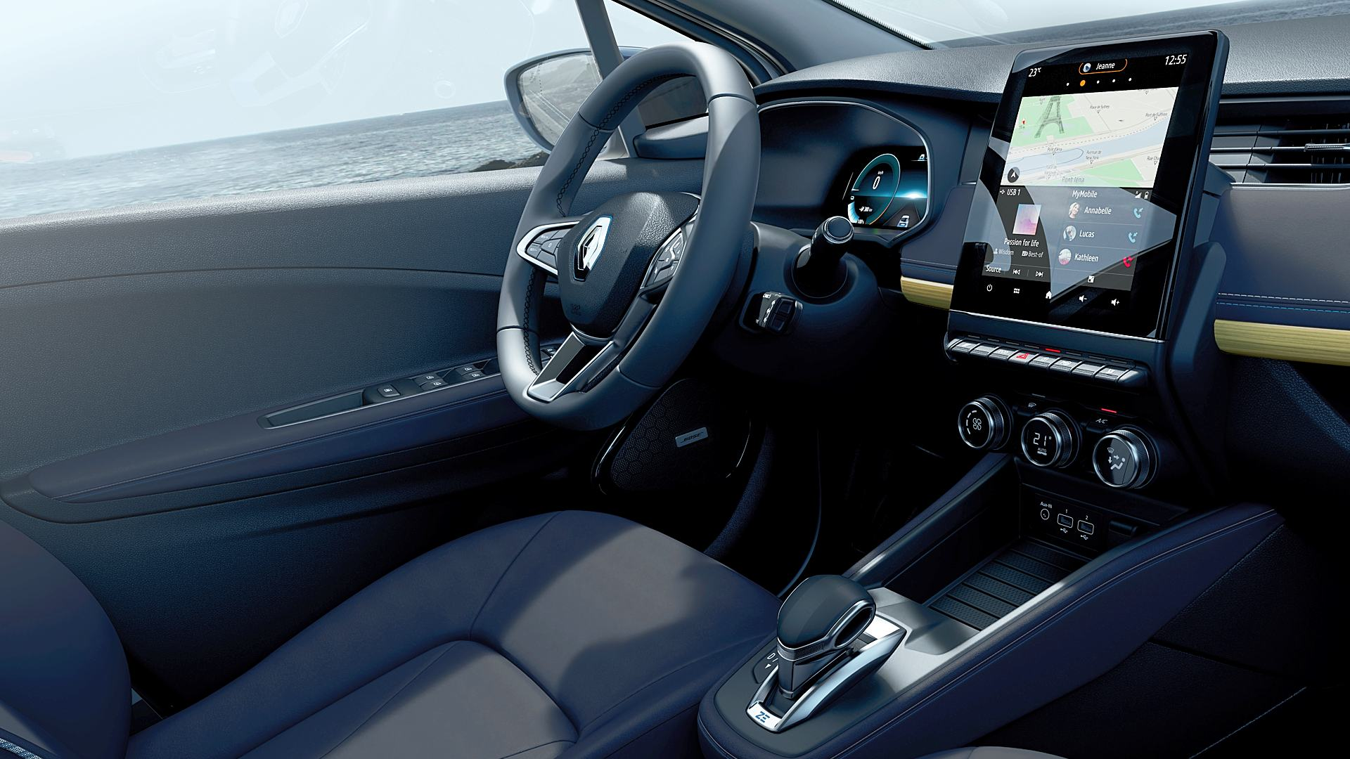 2020 Renault Zoe Electric Interior Images