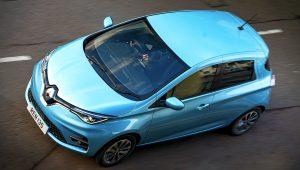2020 Renault Zoe UK Images