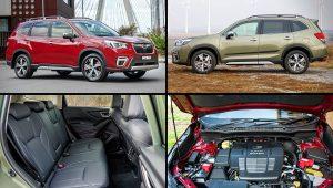2020 Subaru Forester Hybrid Colors Premium SUV Pics