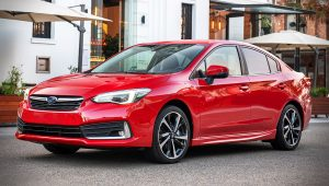 2020 Subaru Impreza 2.0i-S Sedan Red Pictures